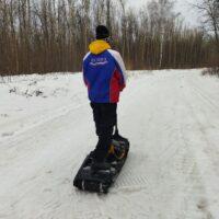 Электро сноуборд_электро мотосноуборд_электрический мото сноуборд_electric snowboard_motosnowboard_1