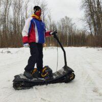 Электро сноуборд_электро мотосноуборд_электрический мото сноуборд_electric snowboard_motosnowboard_2