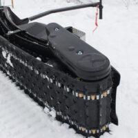 Мотосноуборд_мото сноуборд снайк_моторизованный сноуборд Snike_электро сноуборд_электрчиеский сноуборд_power snowboard_mattracks_power board_black daimond_11