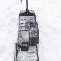 Мотосноуборд_мото сноуборд снайк_моторизованный сноуборд Snike_электро сноуборд_электрчиеский сноуборд_power snowboard_mattracks_power board_black daimond_4