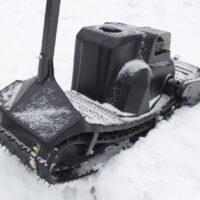 Мотосноуборд_мото сноуборд снайк_моторизованный сноуборд Snike_электро сноуборд_электрчиеский сноуборд_power snowboard_mattracks_power board_black daimond_6