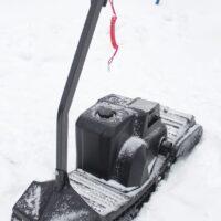 Мотосноуборд_мото сноуборд снайк_моторизованный сноуборд Snike_электро сноуборд_электрчиеский сноуборд_power snowboard_mattracks_power board_black daimond_7